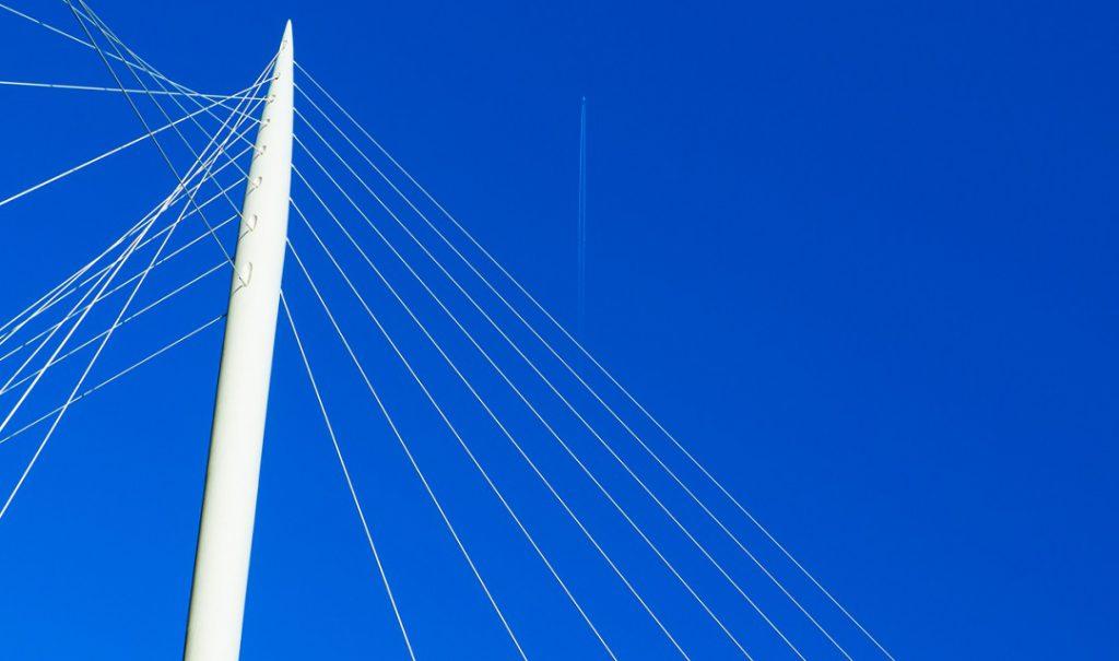 Salford Manchester Lowry bridge